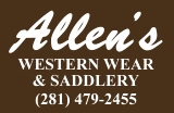 Larry Allen's Western Wear & Saddlery!